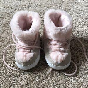 Baby Gap Fur Boots
